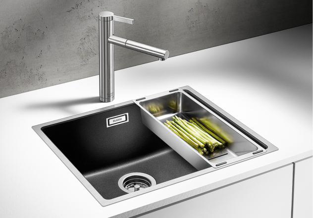 blanco subline 500 if steel frame carini stores ltd. Black Bedroom Furniture Sets. Home Design Ideas