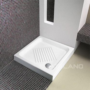 Ceramic Shower Tray 75x75cm Square