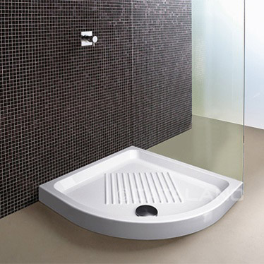 Ceramic Shower Tray 90cm Round
