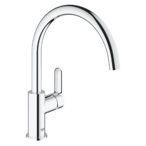 BauEdge Kitchen Mixer High Spout
