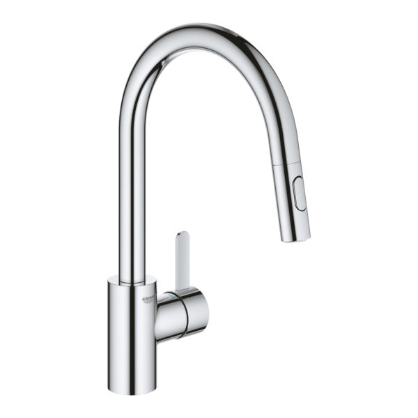 Eurosmart Cosmo Kitchen Mixer with pull out spray