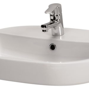 Caspia Oval 60 Washbasin