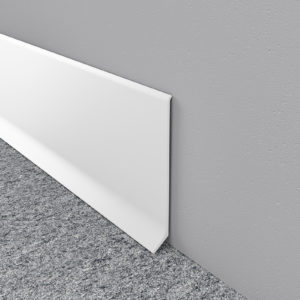 White Aluminium Skirting