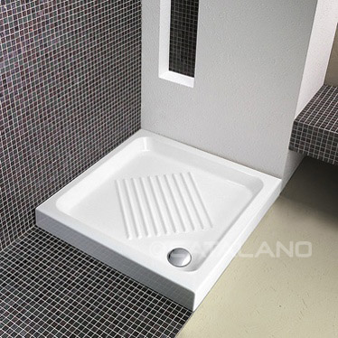 Ceramic Shower Tray 80x80cm Square