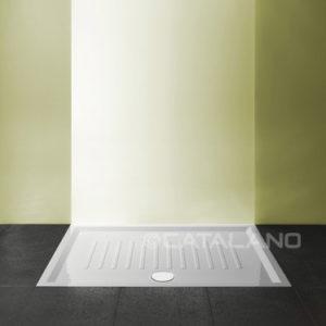Verso Ceramic Shower Tray 120x80cm Slim